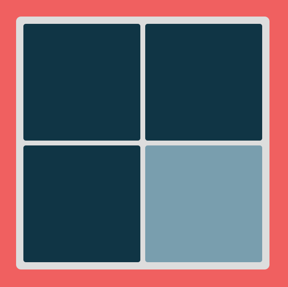 Kliknij na kwadrat różniący się kolorem
