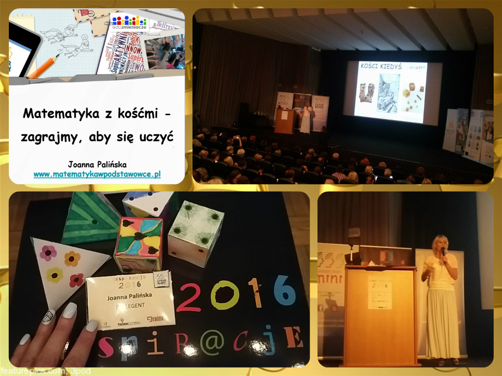 Konferencja Inspiracje 2016 – moje wystąpienie