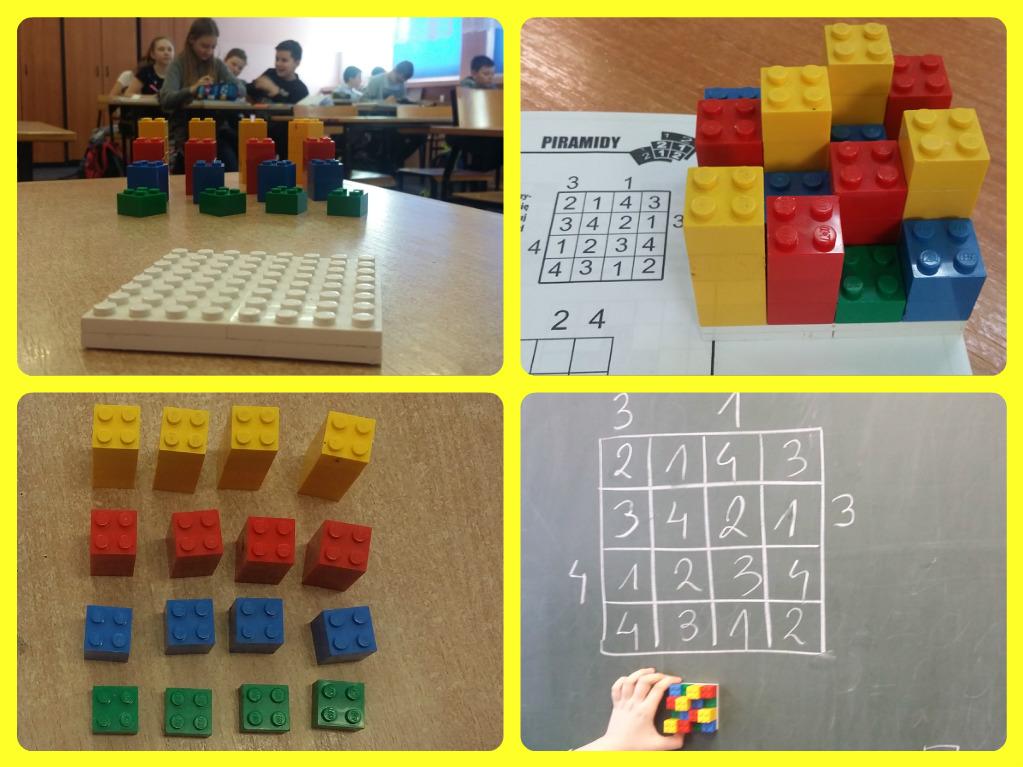 Piramidy – łamigłówka z LEGO
