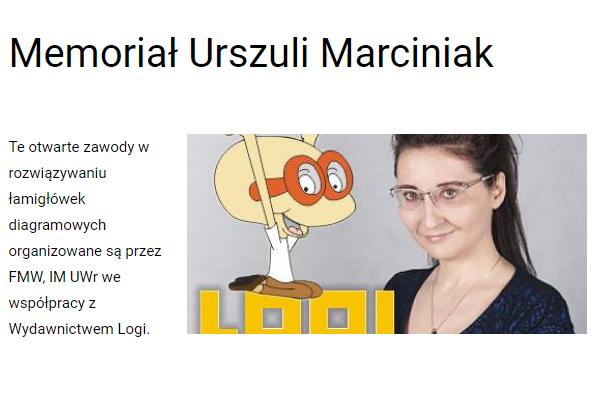 Memoriał Urszuli Marciniak