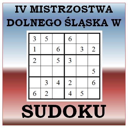 IV Mistrzostwa Dolnego Śląska w SUDOKU