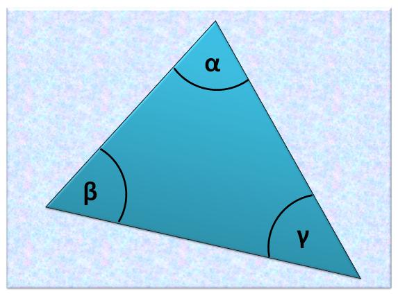 Suma kątów w trójkącie