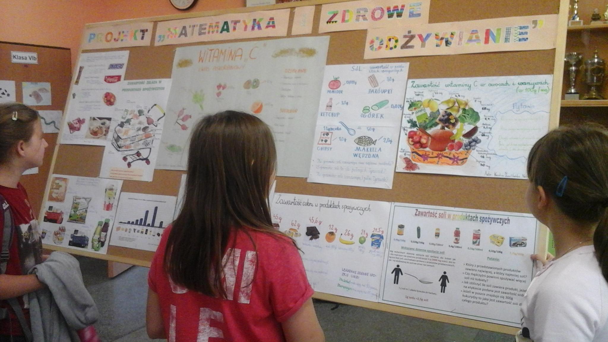 """Projekt """"Matematyka i zdrowe odżywanie"""""""