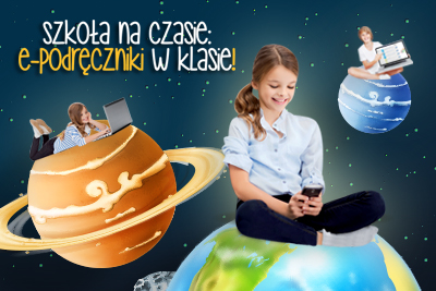 """Konkurs """"Szkoła na czasie, e-podręczniki w klasie!"""""""