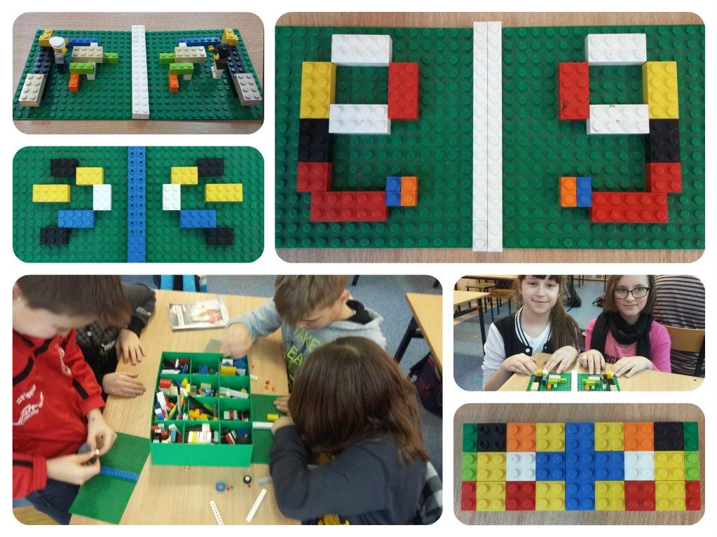 SYMETRIA z klockami LEGO