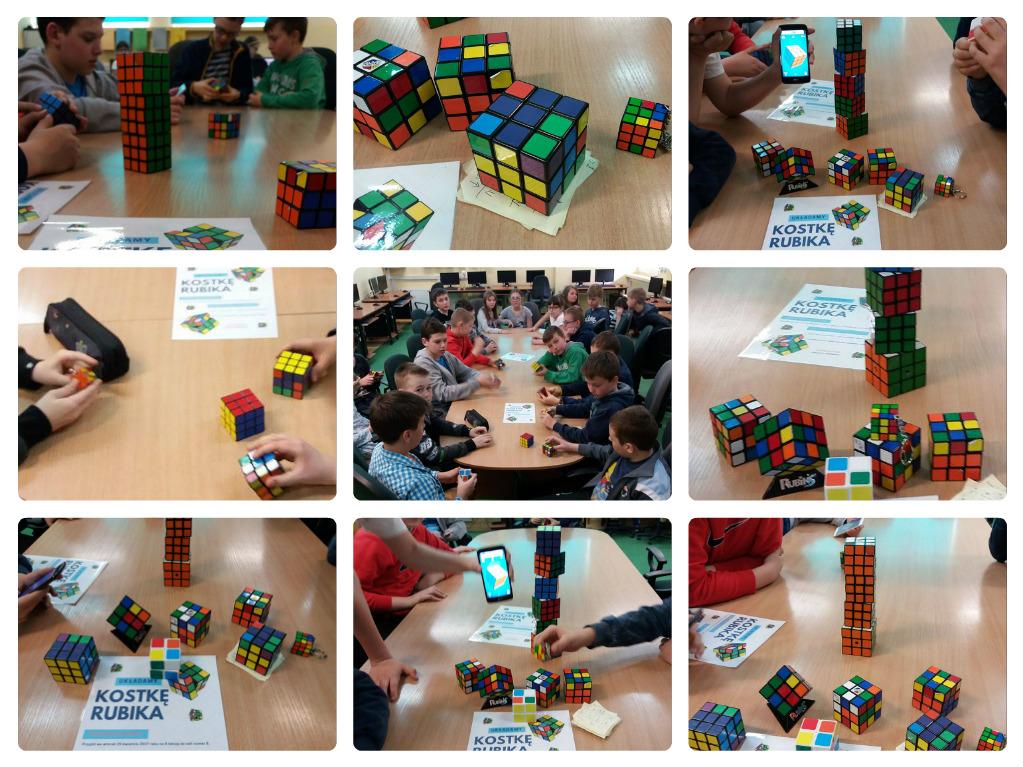 Układamy kostkę Rubika, cz. 1