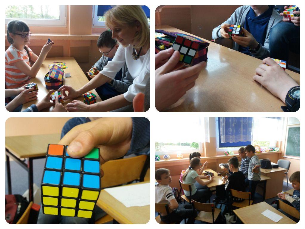 Układamy kostkę Rubika, cz. 2