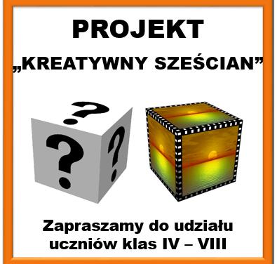 """Kreatywny sześcian"" – projekt"