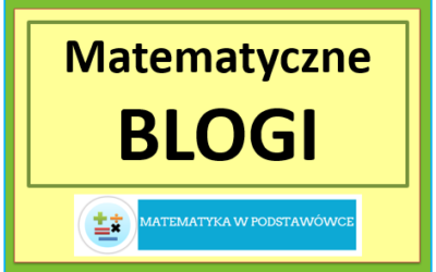 Matematyczne blogi