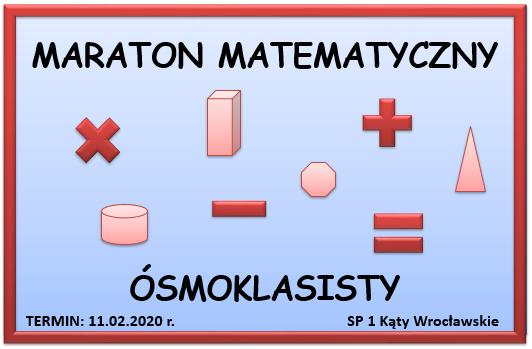 Maraton matematyczny ósmoklasisty